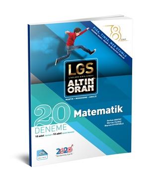 Resim LGS ALTIN ORAN - MATEMATİK 20 DENEME - SARMAL+GENEL DENEME