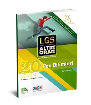 Resim LGS ALTIN ORAN - FEN BİLİMLERİ 20 DENEME - SARMAL+GENEL DENEME