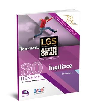 Resim LGS ALTIN ORAN - İNGİLİZCE 30 DENEME - SARMAL+GENEL DENEME